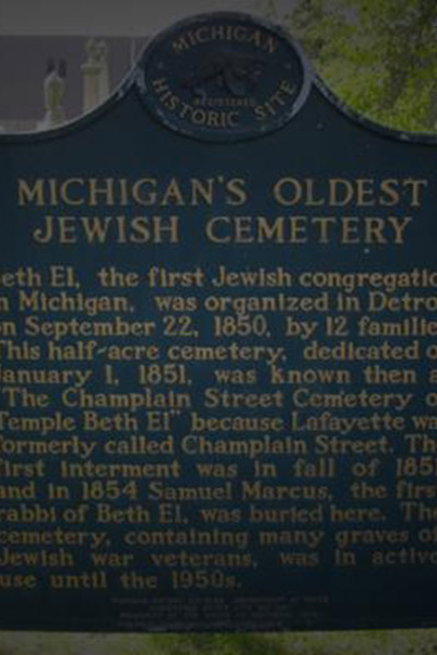 Michigan's Oldest Cemetery Site